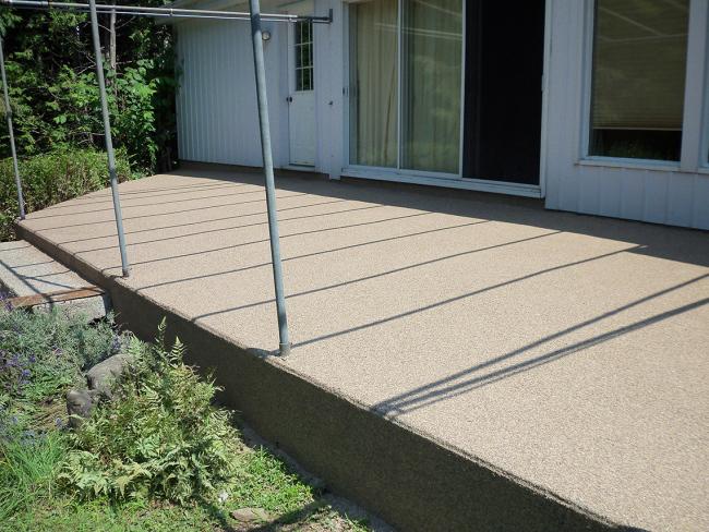 R paration de fissures sur un balcon et rev tement d poxy for Revetement pour galerie de ciment