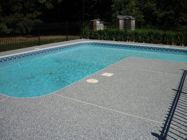 contour de piscine cheap bton estamp piscine with contour. Black Bedroom Furniture Sets. Home Design Ideas